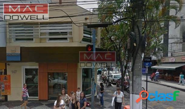 Locação - loja comercial de 500 m² - icaraí, niterói/rj
