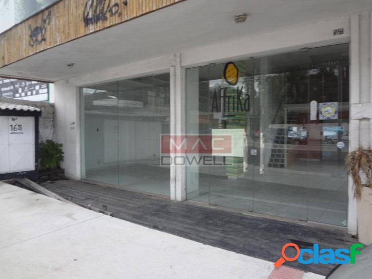 Locação - loja comercial 149 m² - itaipu, niterói/rj