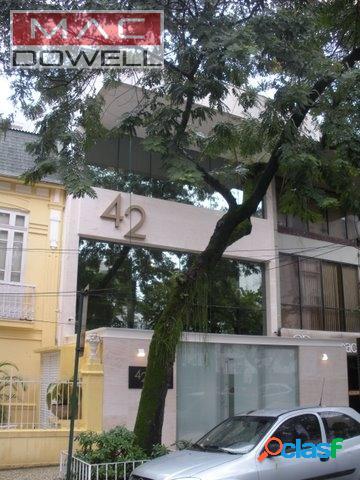Locação - prédio comercial 380 m² - humaitá/rj