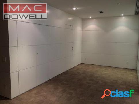 Locação - andar corporativo 160 m² - centro/rj
