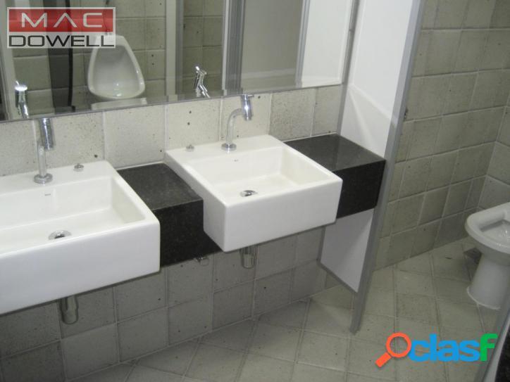 Locação - sala comercial de 210 m² - centro/rj