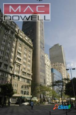 Locação - salas comerciais de 150 m² - centro/rj