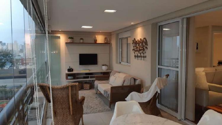 Apartamento 165m² em bairro jardim - santo andré - sp