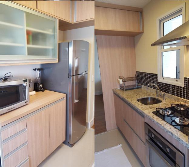 Apartamento mobiliado para locação, possui 52m2 no vision