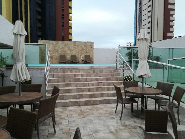 Apartamento para aluguel possui 48 metros quadrados com 1