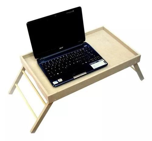 Bandeja mesa de cama com pezinhos - mesinha para notebook