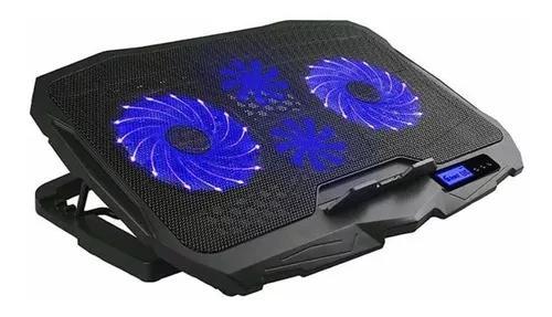 Base notebook multilaser ac332 gamer warrior ingvar led azul