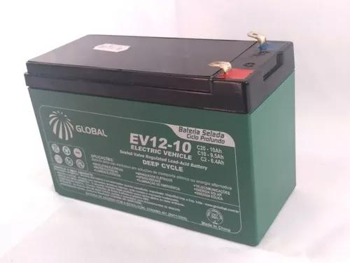 Bateria 2un selada gel 10ah 12v bike elétrica, nobreak
