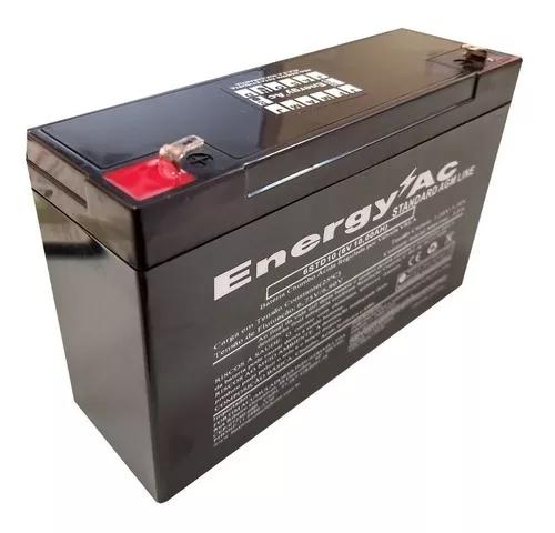 Bateria 6v 10ah - Moto Elétrica Brinquedo Elétrico