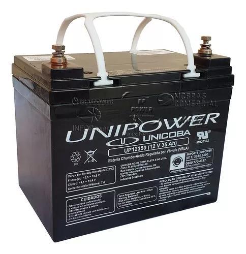 Bateria selada 12v 35ah unipower agm tecnologia - promoção
