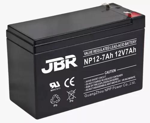 Bateria selada 12v 7ah vrla alarme cerca eletrica cftv ups