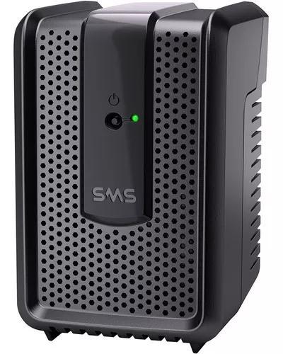 Estabilizador sms bivolt protetor eletronico 300va p/ pc tv