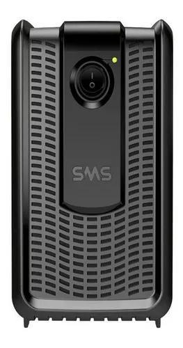 Estabilizador sms revolution 1000va entrada e saída 115v 6