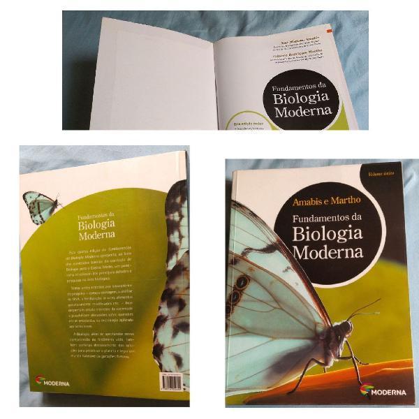 Fundamentos da biologia moderna volume único