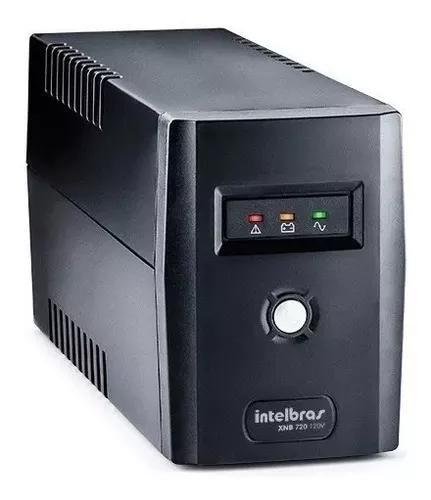 Kit 5 nobreak 600va mono 110v pc dvr camera intelbras cftv