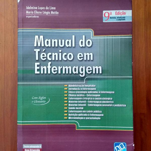 Livro Manual do Técnico em Enfermagem