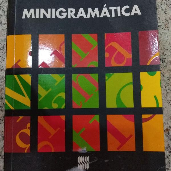 Livro minigramática - ernani terra (11ª edição - 2011)
