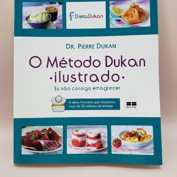Livro o método dukan ilustrado eu não consigo emagrecer dr