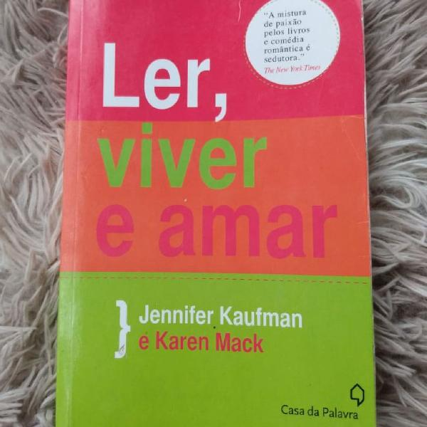 Livro ler, viver e amar