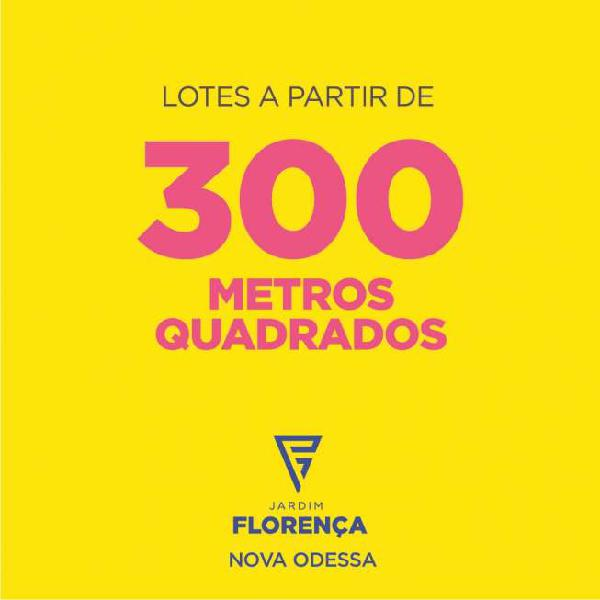 Loteamento jd. florença - 300m²