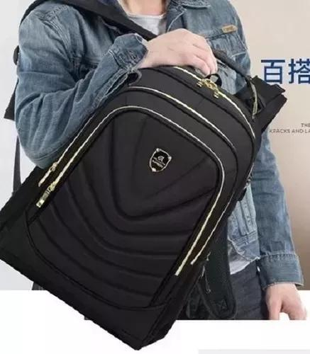Mochila notebook 15.6 bolsa mala importada impermeavel 10