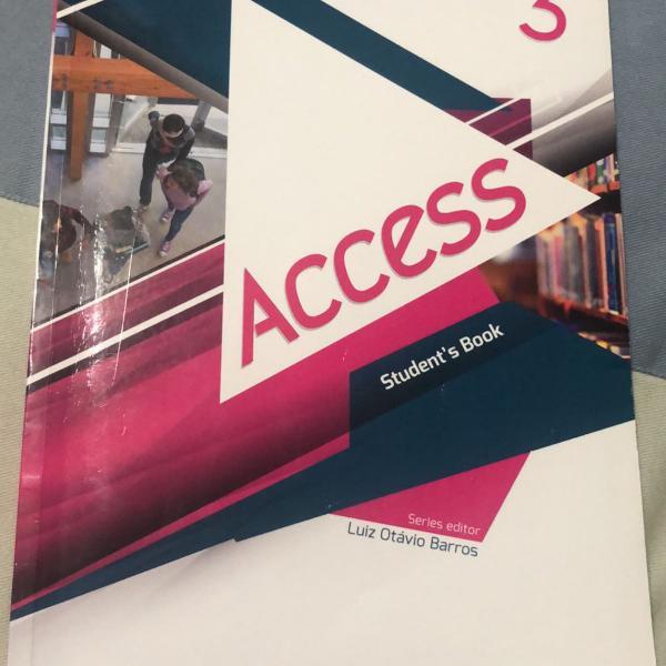 Access 3 students book editora richmond