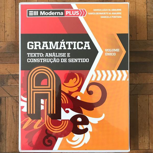 Box livros de gramática vol unico