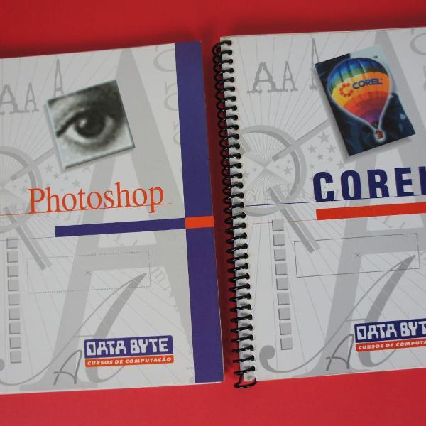 Curso completo photoshop corel draw livro apostila data byte