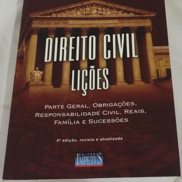 direito civil lições