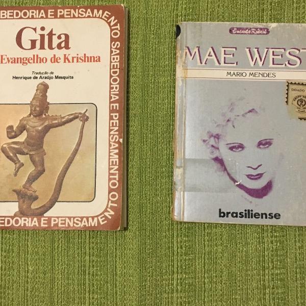 Gitá, o evangelho de krishna e mae west