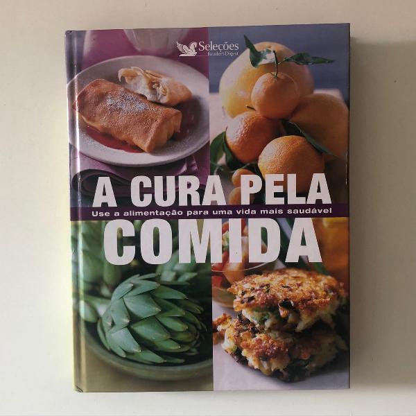 Livro a cura pela comida
