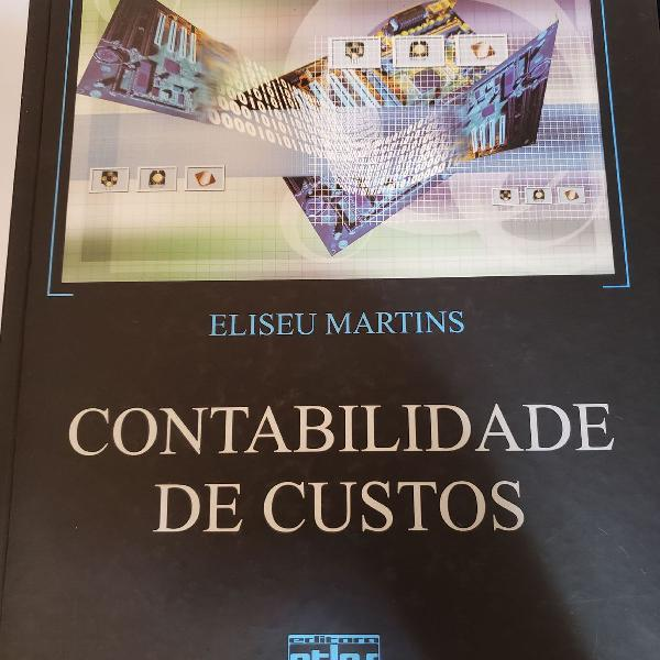 Livro contabilidade de custos - eliseu martins - com livro