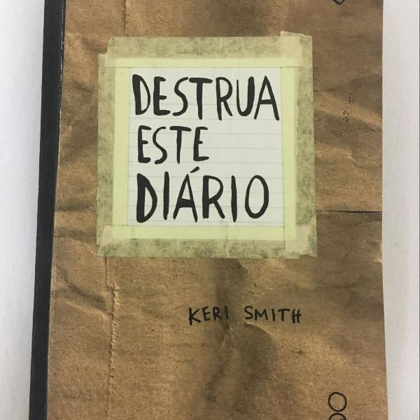 Livro destrua este diário - kero smith