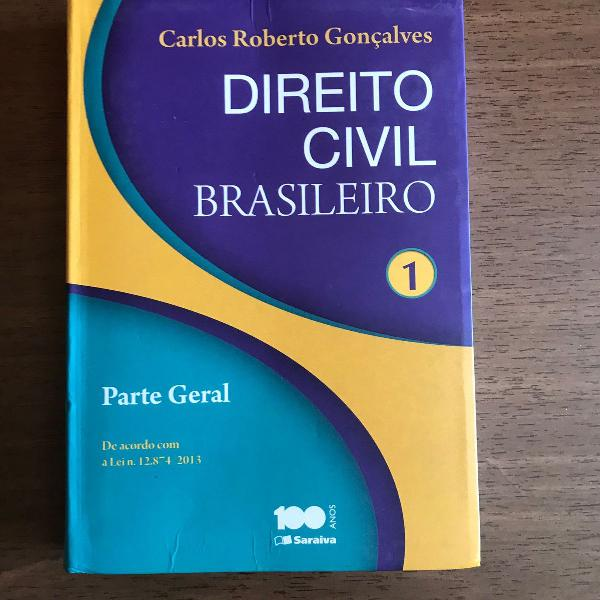 Livro direito civil volume 1 - parte geral (2014)