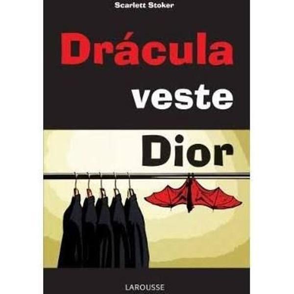 Livro dracula veste dior