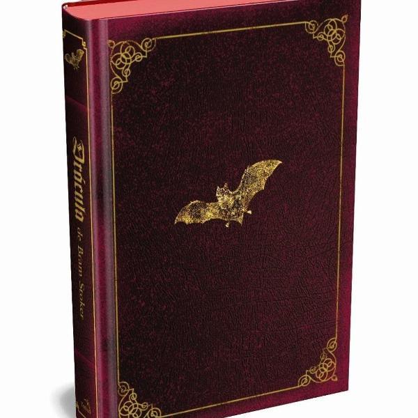 Livro drácula de bram stoker - edição luxo