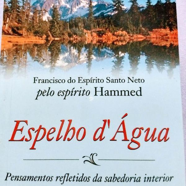 Livro espírita espelho d'água hammed