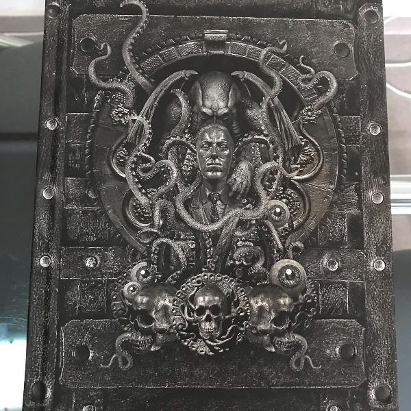 Livro lovecraft edição de luxo