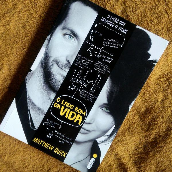 """Livro """"o lado bom da vida"""""""