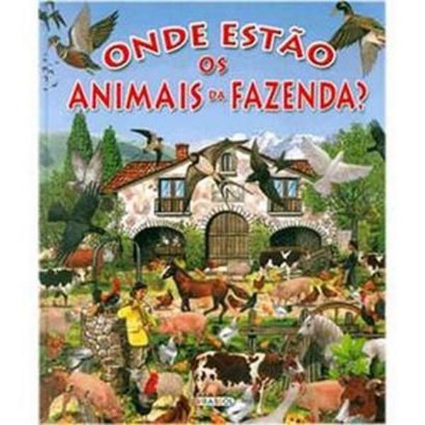 Livro: onde estão os animais da fazenda?