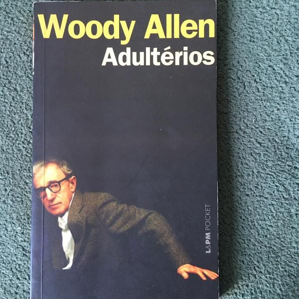 Livro pocket adultérios do woody allen