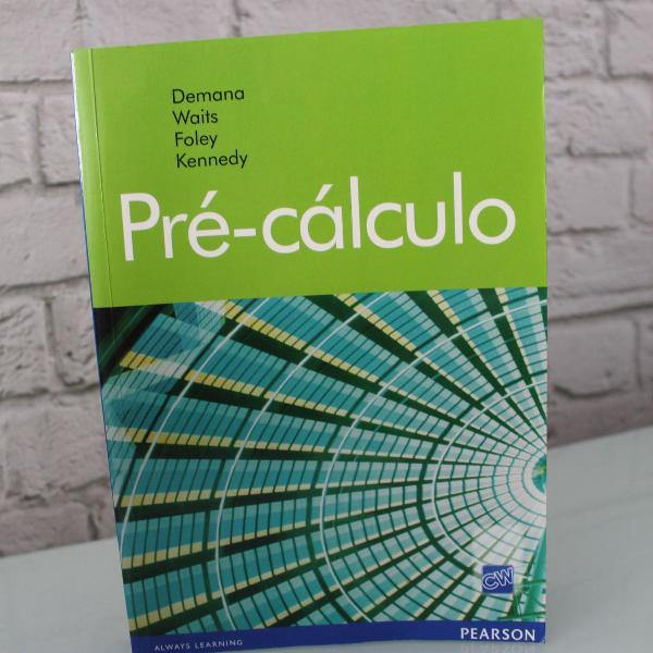 Livro: pré calculo, novo