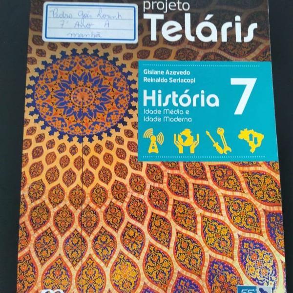 Livro projeto teláris história 7
