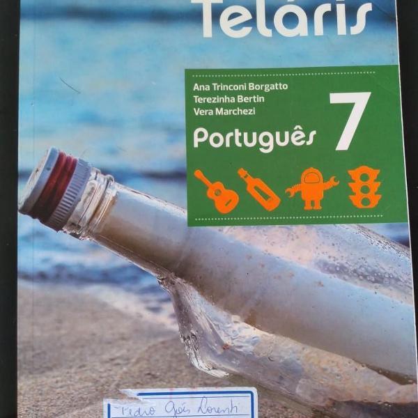 """Livro """"projeto teláris - português 7"""""""