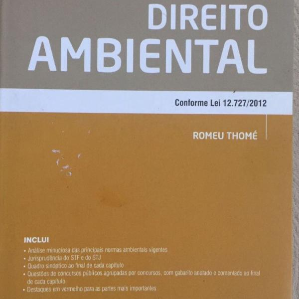 Manual de direito ambiental - romeu thome