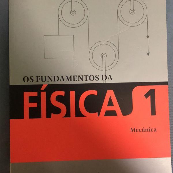 Os fundamentos da física volume 1 (mecânica)