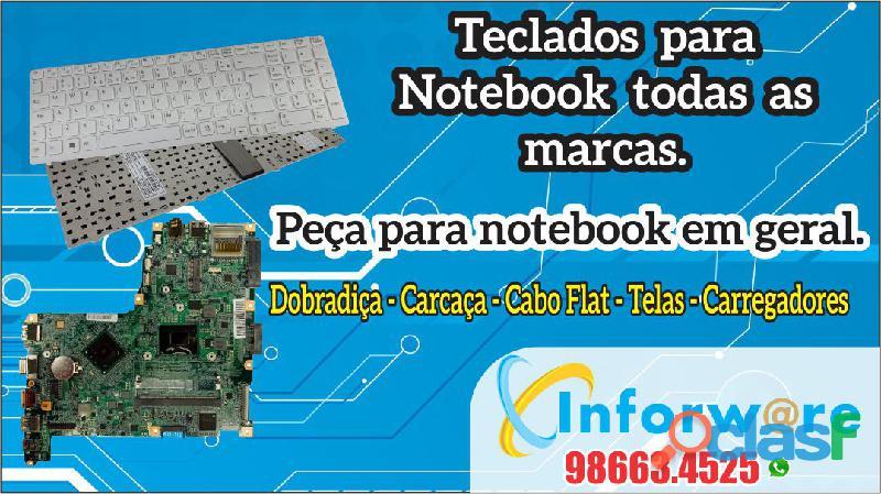 Teclados para notebook neteebook em fortaleza