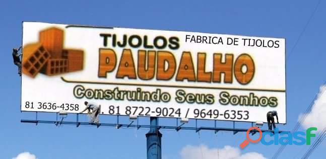 TIJOLOS COM PREÇO DO NATAL