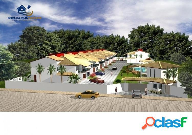 Condominio 20 casas em construção em porto seguro - ba
