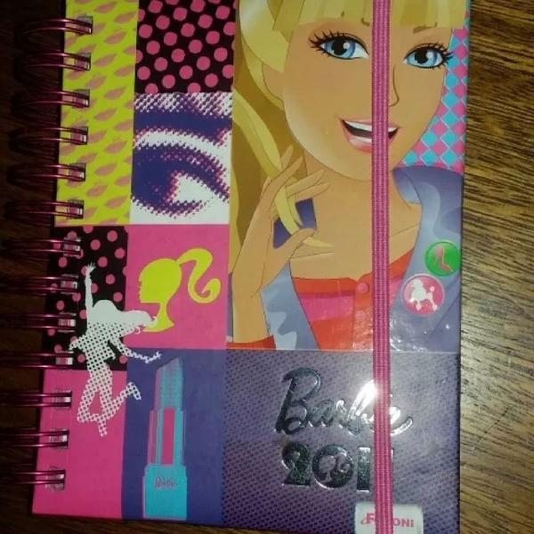 Agenda diária barbie zerada 2011
